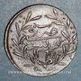 Coins Tunisie. Abdoul Mejid (1255-1277H = 1839-1861). 3 nasri 1265H