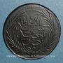 Coins Tunisie. Abdoul Mejid (1255-1277H = 1839-1861). 6 nasri 1264H