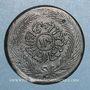 Coins Tunisie. Abdoul Mejid, sultan avec Muhammad, bey (1272-76H = 1856-60). 13 nasri 1273H