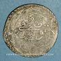 Coins Tunisie. Ottomans. Mahmud II (1223-1255H). 8 kharoub 1243H. Tunis