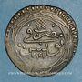 Coins Tunisie. Ottomans. Mahmud II (1223-1255H). 8 kharub (1/2 piastre)  1241H. Tunis
