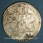 Coins Tunisie. Ottomans. Mahmud II (1223-1255H). Piastre 12(2)xH. Tunis