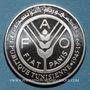 Coins Tunisie. République. 1 dinar 1995. 5 000 ex !