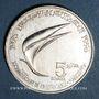 Coins Tunisie. République. 5 dinars 1976
