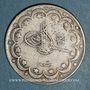 Coins Turquie. Mehmet V (1327-1336H = 1909-1918). 10 qurush 1327H, an 7