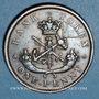 Coins Upper Canada (Haut-Canada). Bank of Upper Canada. 1 penny token 1850