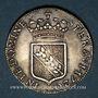 Coins Duché de Lorraine. Léopold (1697-1729). Double teston 1720. Nancy