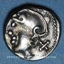 Münzen Eduens (région de la Bourgogne et du Nivernais) - (1er siècle av. J-C). Quinaire, classe II