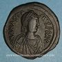 Coins Empire byzantin. Anastase (491-518). Follis. Constantinople, 1ère officine, 498-518
