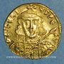 Münzen Empire byzantin. Tibère III Apsimar (698-705). Solidus. Constantinople, 4e officine, 698-705