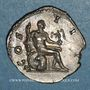 Münzen Hadrien (117-138). Denier. Rome 126. R/: Hercule