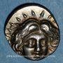 Monnaies Iles de Carie. Rhodes. Ameinas, magistrat. Didrachme, 229-205 av. J-C