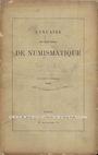 Livres d'occasion Annuaire de la Société Française de Numismatique. Tome 13. 1889