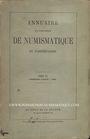 Livres d'occasion Annuaire de la Société Française de Numismatique. Tome 3, 1ère partie. 1868