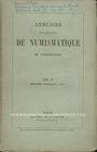 Livres d'occasion Annuaire de la Société Française de Numismatique. Tome 4, 2e livraison. 1874