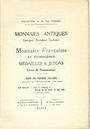 Livres d'occasion Bourgey E., Paris, vente aux enchères, 07-12.05.1930. Collection  Paul DISSARD