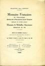 Livres d'occasion Bourgey E., Paris, vente aux enchères, 15-19.05.1925, Collection Emile Koechlin
