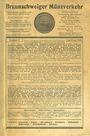 Livres d'occasion Braunschweig Münzenhandlung, liste vente n° 2 April / Juni 1928
