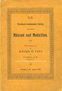 Livres d'occasion Cahn A., Francfort. Liste n° 20 - janvier 1906