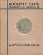 Livres d'occasion Cahn A., Francfort, vente aux enchères n° 63, 15.04.1929. Rheinische Sammlung (Slg. Strauss)