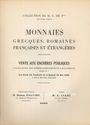 Livres d'occasion Ciani, vente aux enchères 14-16. 05.1936. Collection de M. E. de P*** (2e partie)