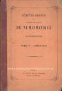 Livres d'occasion Comptes rendus de la Société Française de Numismatique. Tome 4. 1873