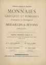 Livres d'occasion Florange / Ciani, Paris, vente aux enchères 12-15.05.1926. Collection Charles de Bourdes