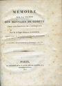 Livres d'occasion Garnier Germain (Comte) Mémoire sur la valeur des monnaies de compte chez les peuples de l'Antiquité