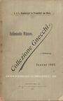 Livres d'occasion Hamburger L, Francfort, vente aux enchères, janv. 1902, Italienische Münzen, collezione Gnecchi, I