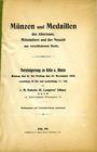 Livres d'occasion Heberle J. M., vente des 11-15.11.1912