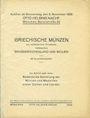 Livres d'occasion Helbing O., Munich. Auktions Katalog du 08.11.1928