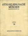 Livres d'occasion Helbing O., Munich. Auktions Katalog n° 78 du 20.03.1935