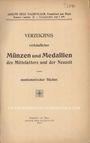 Livres d'occasion Hess A., Francfort, liste à prix fixes n° 144, 1913