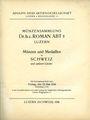 Livres d'occasion Hess A., Lucerne. Vente aux enchères n° 231, du 22.05.1936