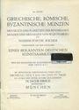 Livres d'occasion Hirsch J., vente aux enchères n° 34, du 5.5.1914. Griechische, Römische, Byzantine Münzen ...
