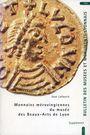 Livres d'occasion Lafaurie Jean - Monnaies mérovingiennes du musée de Lyon