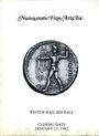 Livres d'occasion Numismatic Fine Arts. Vente du 15.01.1982