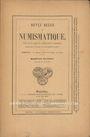 Livres d'occasion Revue Belge de Numismatique. 1890