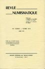 Livres d'occasion Revue numismatique. 1974