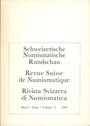 Livres d'occasion Revue suisse de numismatique. 1992