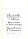 Livres d'occasion Revue suisse de numismatique. 1994