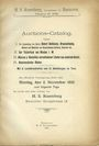 Livres d'occasion Rosenberg H. S., Auktion-Catalog (N° 3). 5.11.1900