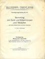Livres d'occasion Rosenberg Sally. Auktions Katalog n° 63 du 2.4.1928