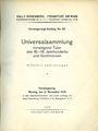 Livres d'occasion Rosenberg Sally. Auktions Katalog n° 65 du 12.11.1928