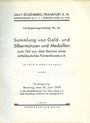 Livres d'occasion Rosenberg Sally. Auktions Katalog n° 66 du 10.06.1929