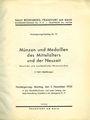 Livres d'occasion Rosenberg Sally. Auktions Katalog n° 74 du 05.12.1932