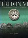 Livres d'occasion Triton VI. Vente des 14-15.01.2003