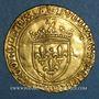 Monnaies Louis XI le Prudent (1461-1483). Ecu d'or au soleil (2 novembre 1475). Tours. Var. FRANCORVM RVX