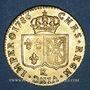 Monnaies Louis XVI (1774-1793). Louis d'or au buste nu 1786K. Bordeaux