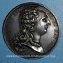 Monnaies Louis XVI. Strasbourg. Jubilé du rattachement de Strasbourg à la France. 1781. Médaille argent